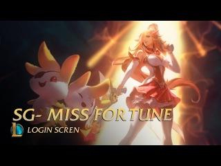 Star Guardian Miss Fortune | Login Screen - League of Legends (unofficial)