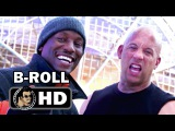 FAST AND FURIOUS 8 B-Roll Bloopers Footage (2017) Vin Diesel, Dwayne Johnson Action Movie HD
