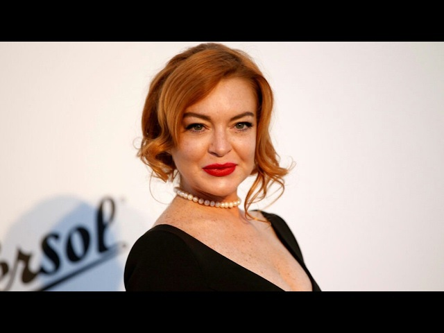 Lindsay Lohan at amfAR Gala Cannes 2017 at Hotel du Cap-Eden-Roc on May 25, 2017 in Cap d'Antibes