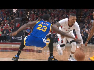 Damian Lillard's FILTHY Crossover vs. the Warriors | April 24, 2017