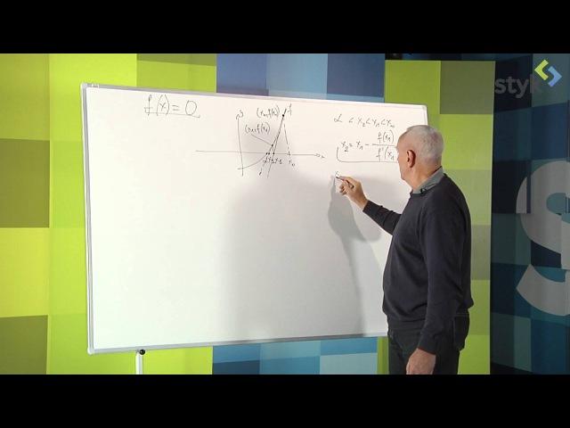 14 3 Metoda Newtona do wyznaczania przybliżonych rozwiązań równań
