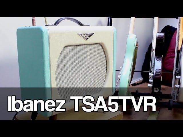 Ibanez TSA5TVR Tube Screamer amplifier
