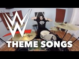 WWE WWF Wrestling Theme Song Medley Drum Cover