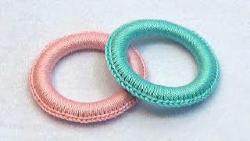 Как обвязать колечко для слингобус (МК №11) Crochet Teething Ring Tutorial