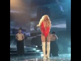 Britney Spears Baby One More Time Piece Of Me show 11 January 2017 Hollywood Planet full