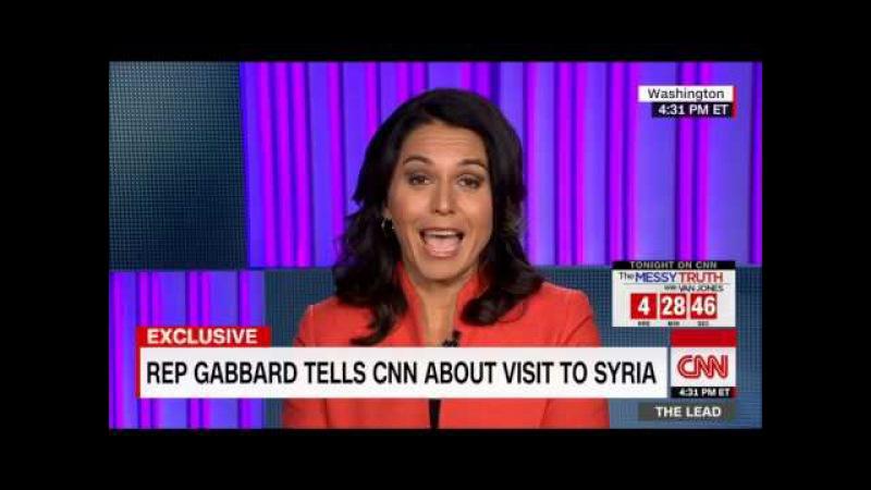 (голосовой перевод) Вернувшаяся из Сирии Тулси Габбард загоняет в угол