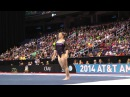Roxana Popa Nedelcu - Floor Exercise - 2014 AT T American Cup