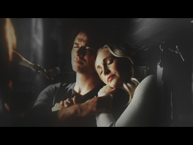 Damon Caroline | Stefan Elena | hold on