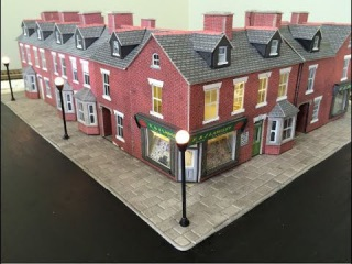 Laying Metcalfe Paving Slabs - Developing the Town Scene - Part 2