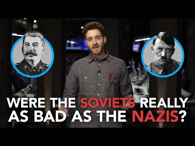 How the far-right is distorting history to paint the Soviet Union as worse than the Nazis