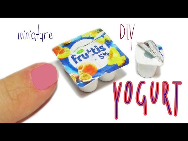 DIY miniature Yogurt / Really Desserts