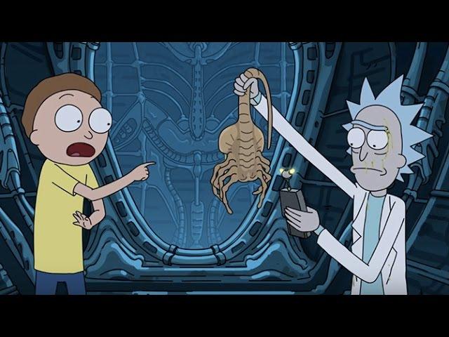 РИК И МОРТИ ЧУЖОЙ ЗАВЕТ (русская озвучка) | Rick and Morty Alien Covenant