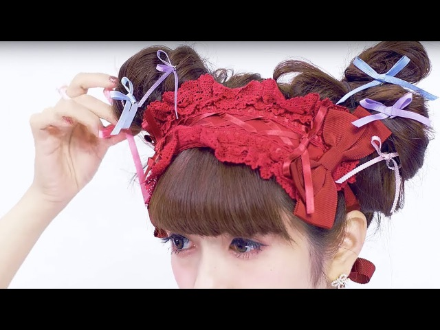 10 Lolita Hair Arrange with Misako Aoki【English Sub】