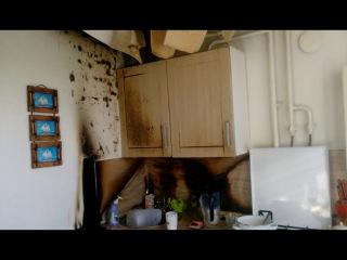 В результате возгорания квартиры пострадала жительница Нефтекамска