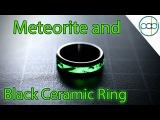 Making a Glowing Meteorite and Black Ceramic Wedding Ring