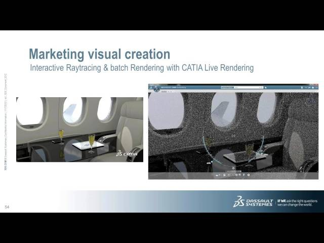 Webinar: Dassault Systèmes' 'Interior Cabin Design with CATIA Creative Design and CATIA Icem'