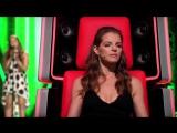 Девочка поет Titanium - David Guetta feat. Sia на слепых прослушиваниях (Hanna Rohkohl Cover)