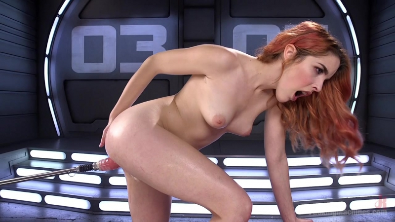 Spanish Red Head Machined Fucked Into Uncontrollable Orgasms!! (February 15, 2017)part 2