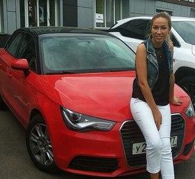 Надежда Ермакова купила автомобиль