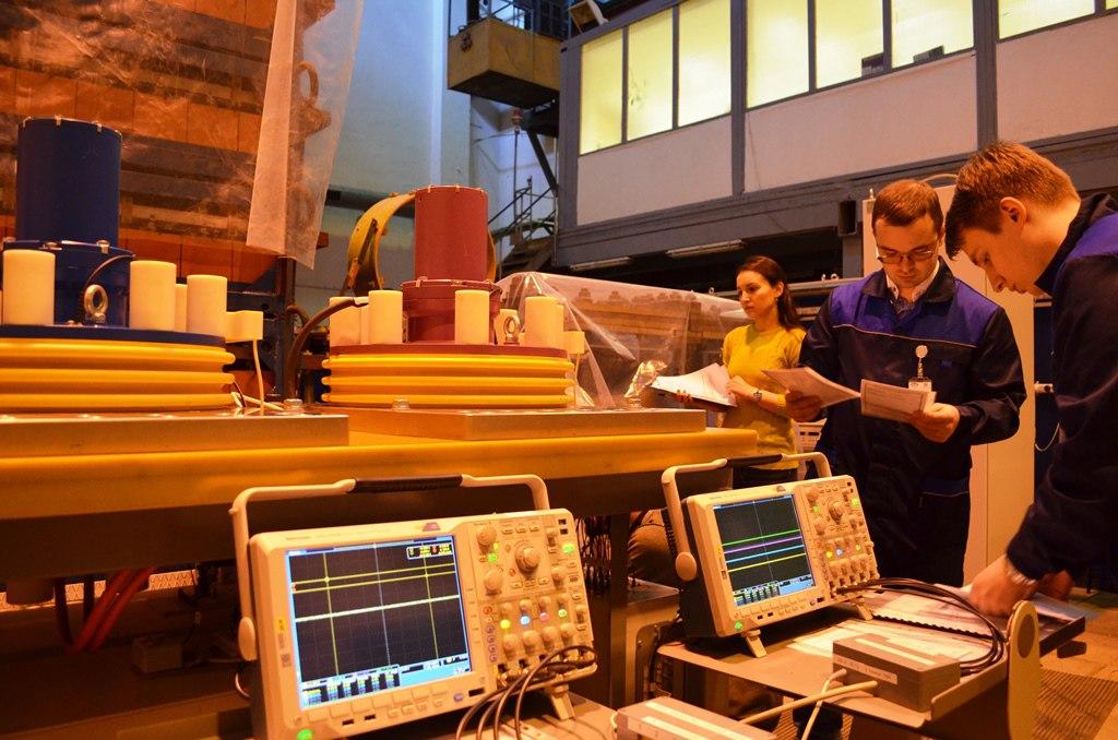НИИЭФА тестирует коммутирующее оборудование для ИТЭР