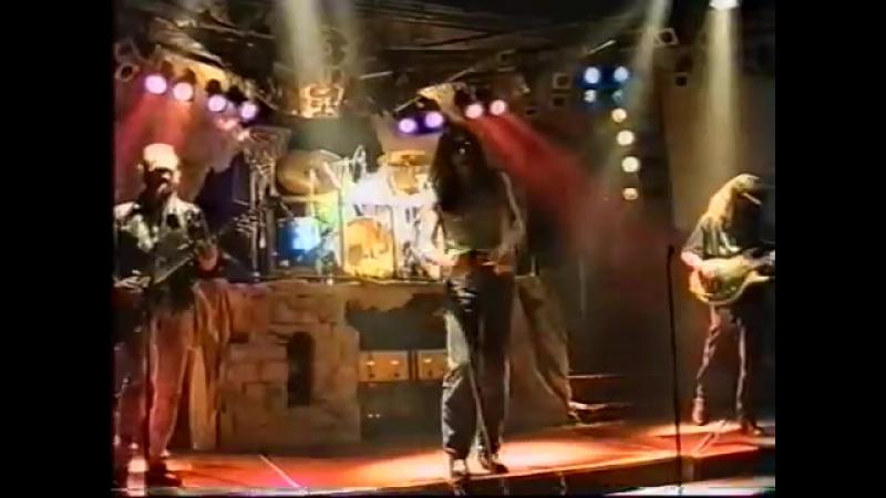 А. Монин и гр. «Круиз». Концерт в клубе «Вояж». 1995 г.