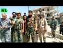 Война в Сирии Сирийская армия освободила от террористов город Сухна. 13 августа 2017