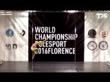 IPSAF WORLD CHAMPIONSHIP POLE SPORT 2016 FLORENCE (Semifinals) - Veronika Pavlova (Russia)