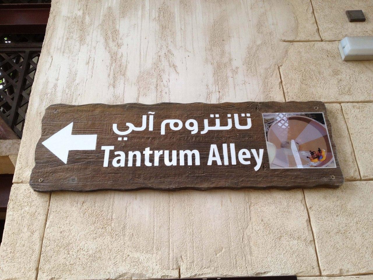 Водная горка Tantrum Alley