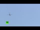 В небе над Вашингтоном заметили российский Ту-154