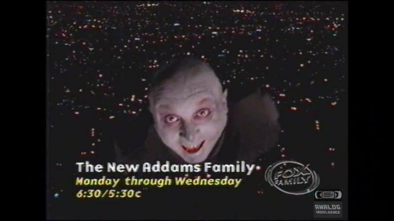 Fox Family Новая Семейка Аддамс ТВ ПРОМО (1999)