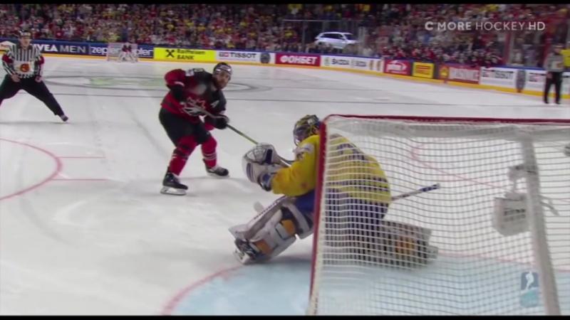 VM 2017 - Kanada vs Sverige, Strafflaggningen