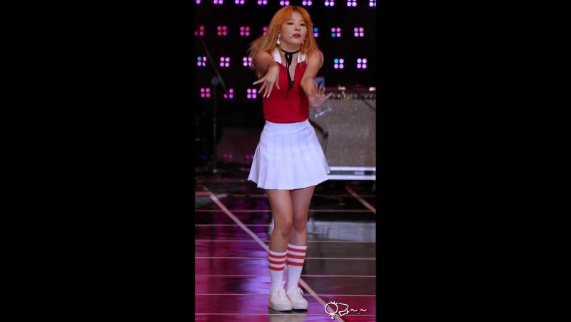 160921 대구 두류공원 파크콘서트 레드벨벳(Red Velvet) 슬기 Dumb Dumb 직캠(Fancam)