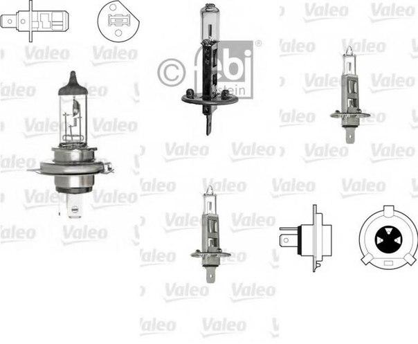Лампа накаливания, противотуманная фара для AUDI CABRIOLET (8G7, B4)