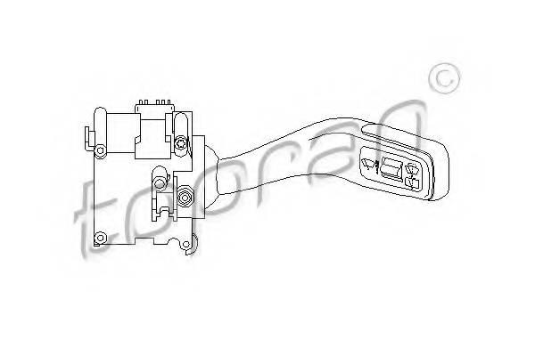 Переключатель стеклоочистителя для AUDI Q7 (4L)