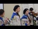 Рождественский КВН 14 января 2017 года. Выступление группы Аквамарин Часть 2