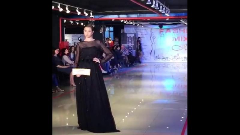 Фестиваль моды Золотая Молния 2017, коллекция Анастасии Осипян