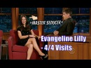Evangeline Lilly The Most Seductive Woman Of All Time 4 4 Visits To Craig Ferguson