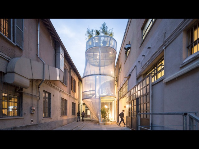SO-IL and MINI create an air-filtering house that