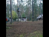 Даришка катается на троллее - Турслёт ИТМО 2016