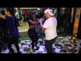 Ivis Torres and Jose (Dallas) dancing bachata at Stratos