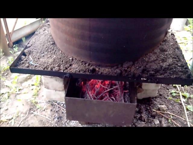 Коптильня горячего копчения из бочки » Freewka.com - Смотреть онлайн в хорощем качестве