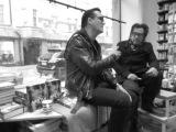 Jyrki Linnankivi &amp Jonathan Shaw at Nide bookstore 2 Helsinki