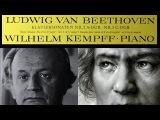 Beethoven  W. Kempff, 1964 Piano Sonata No. 2 in A Major, Op. 2 No. 2