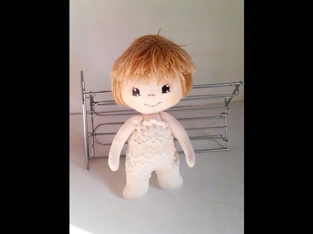 19 Tutorial cuerpo muñeca de tela. Macтер-класс тело куклы из ткани