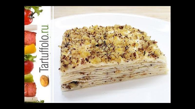 ОЧЕНЬ простой и ВКУСНЫЙ торт Наполеон без выпечки за 20 минут!