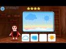 Лунтик Учим Английский язык - Время суток Развивающий Мультик Игра для детей Like B...