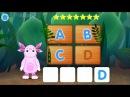 Лунтик Учим Английский язык - Буквы Развивающий Мультик Игра для детей Like BebyTV