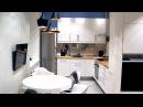 Перепланировка из 2-х комнатной в 3-х комнатную. Дизайн интерьера.