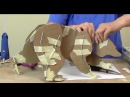 Paper Mache Raccoon Part 2 The Fingers And Toes 1