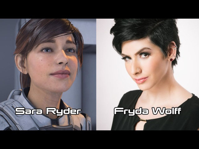 Characters and Voice Actors - Mass Effect: Andromeda